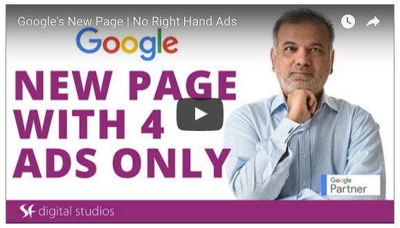 Google Stops Right Hand Side Ads