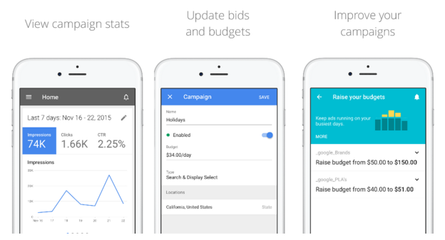 Google Adwords App For iOS