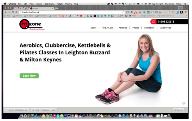 Success Story: Fitzone Web Design