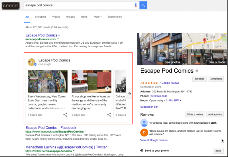 A Beginners Guide To Google Posts.