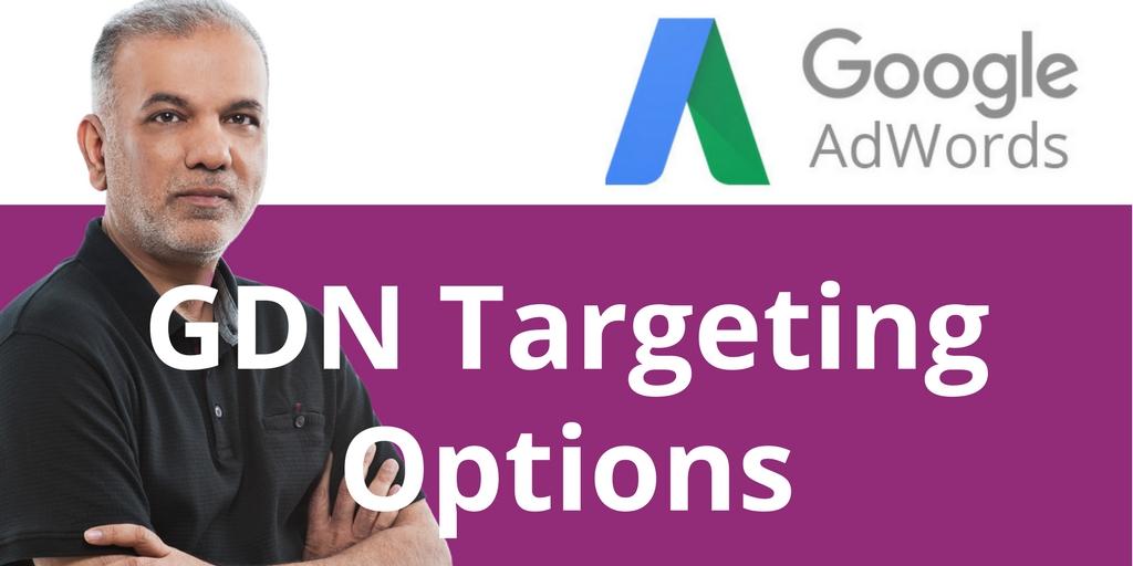 Google Display Network Targeting Options