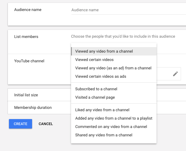How To Create YouTube Remarketing Lists In Google AdWords