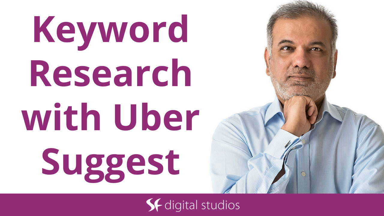 Keyword Research With Ubersuggest Keyword Tool