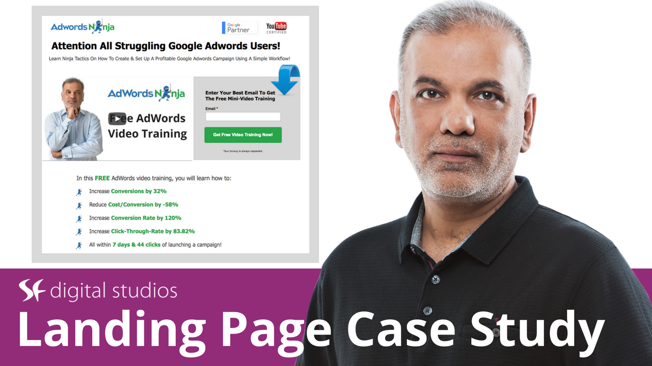 AdWords Landing Page Optimization Tutorial Case Study