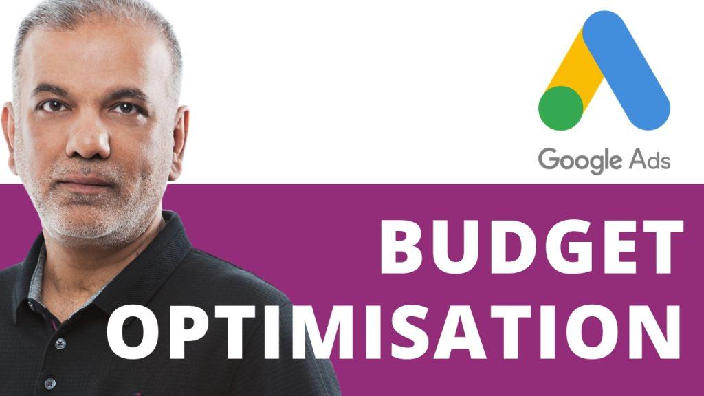 Google Ads Budget Optimisation