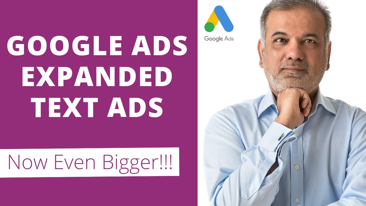 Google Ads Expanded Text Ads