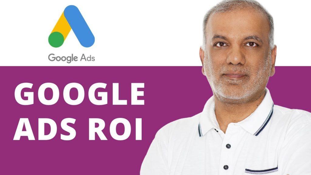 Google Ads ROI Formula