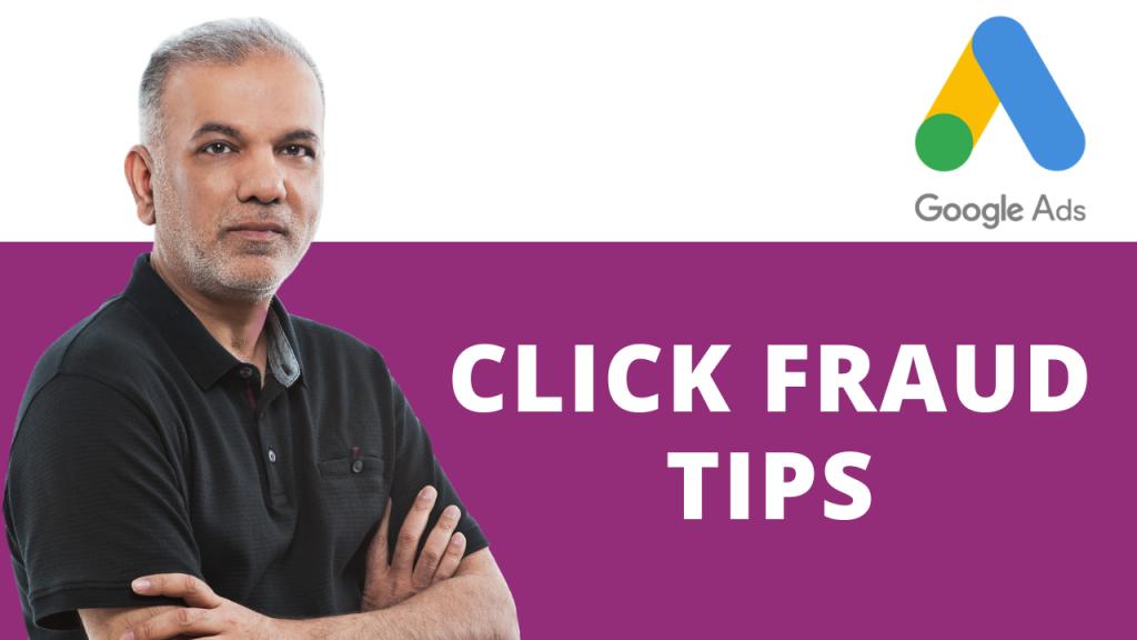 Google Ads Click Fraud Tips