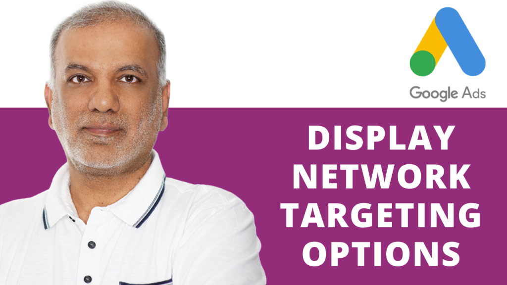 Google Display Network Targeting Options