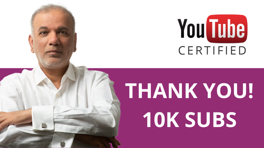 Thank You! 10k YouTube Subscribers