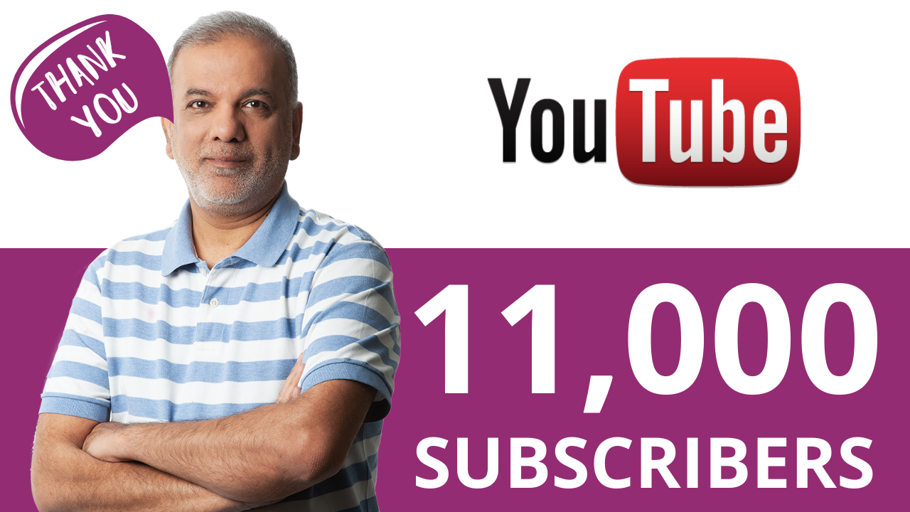 We've Reached 11K YouTube Subscribers – Thank You!