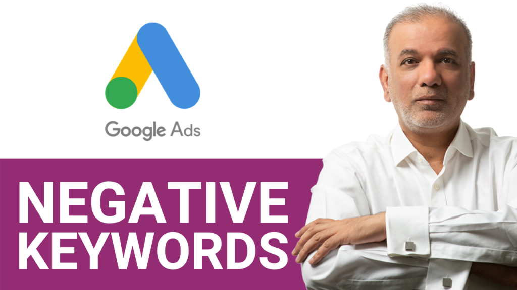 YouTube Video Ads Setup –  How To Set Up Negative Keywords In Your Google Ad Campaign