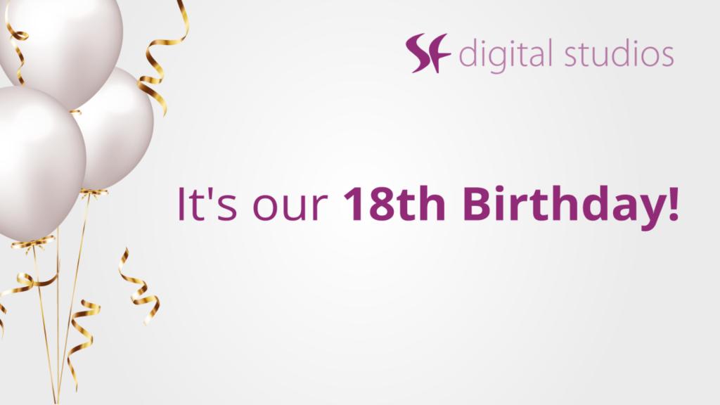 company 18th anniversary
