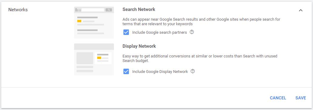 Google Ads Search Network vs. Display Network