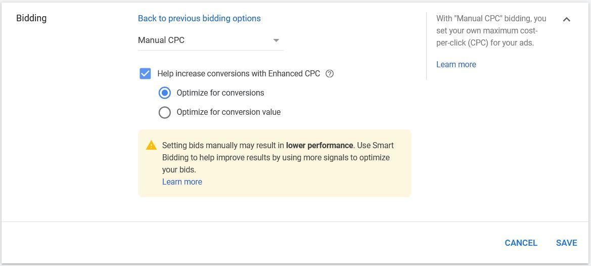 Google Ads Bidding Strategies